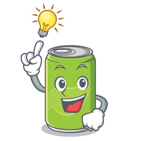 Have an idea soft drink character cartoon