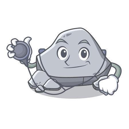 医師石文字漫画のスタイル  イラスト・ベクター素材