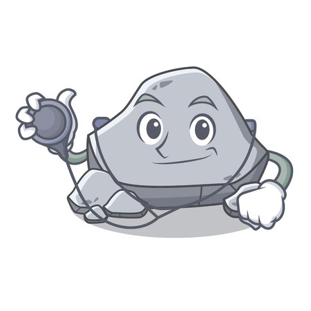 Doctor stone character cartoon style