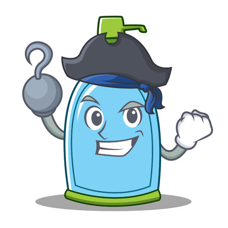 Pirate liquid soap character cartoon