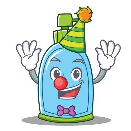 Clown liquid soap character cartoon