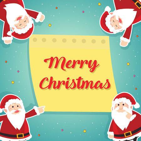 Greeting card of Christmas theme Illustration