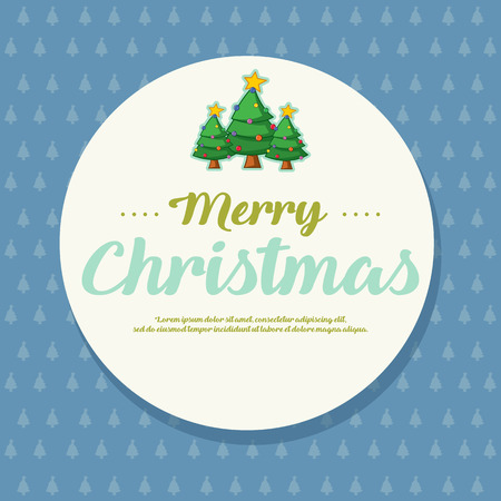 Happy Merry Christmas Card Style