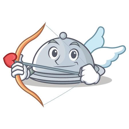 Cupid tray character cartoon style