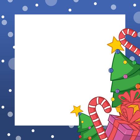 Collection Christmas Frame Design Art