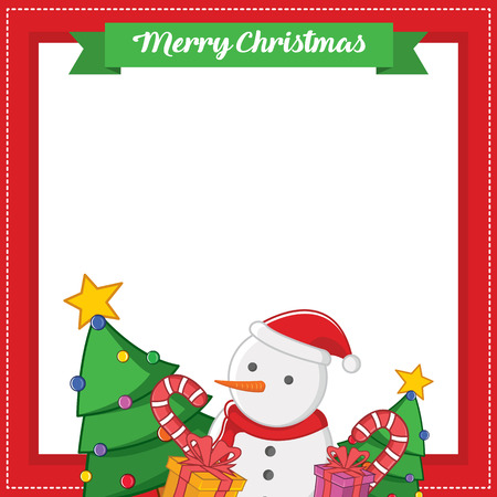 Frame for chritsmas theme design Banco de Imagens - 91694340