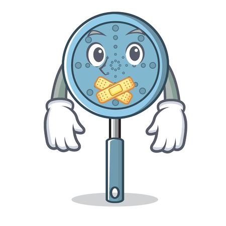 Silent skimmer utensil character cartoon vector illustration