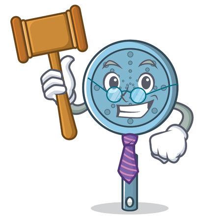 Judge skimmer utensil character cartoon