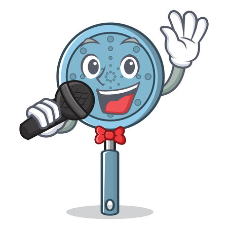 Singing skimmer utensil character