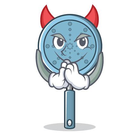 Devil skimmer utensil character Иллюстрация