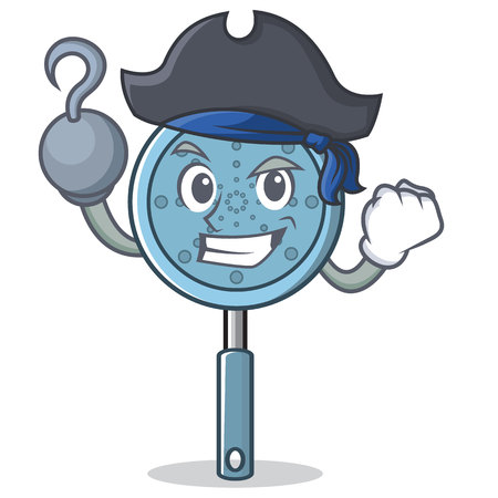 Pirate skimmer utensil character cartoon