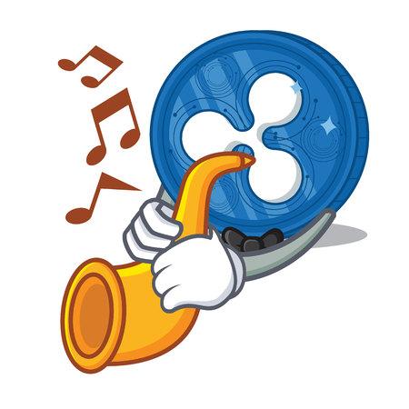 Avec personnage de trompette Ripple