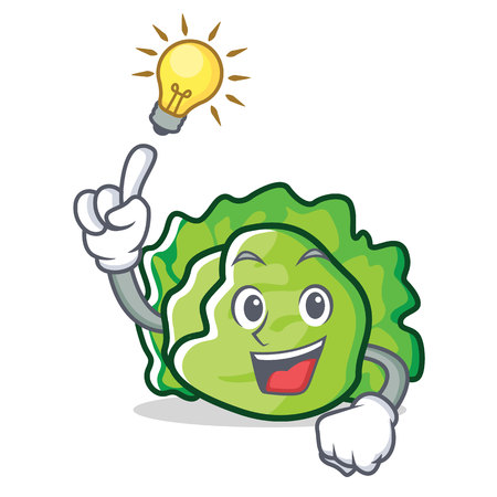 Have an idea lettuce character mascot style