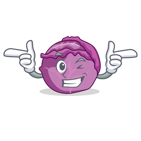 Wink Red Skelett Charakter Cartoon Standard-Bild - 93845254