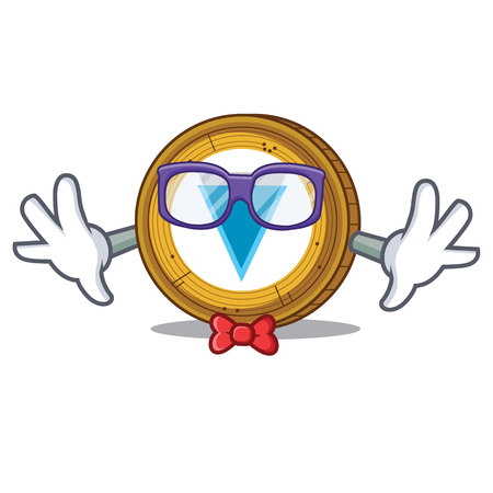 Geek Verge coin character cartoon