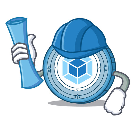 Architect webpack coin character cartoon