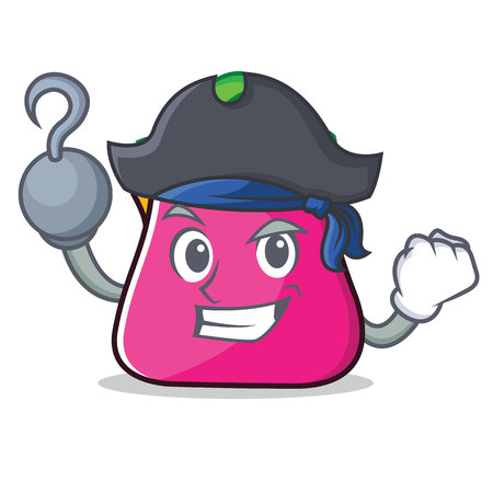 Pirate purse character cartoon style