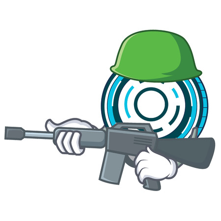 Army Aion coin character cartoon