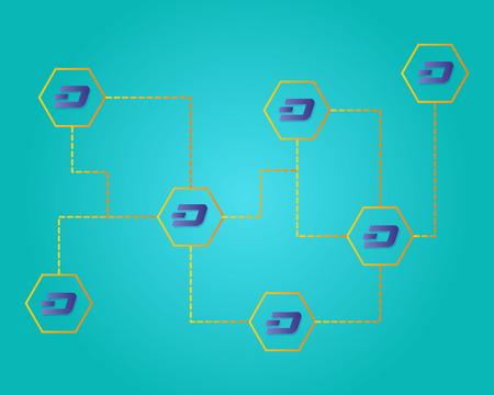 Dash blockchain work technology background