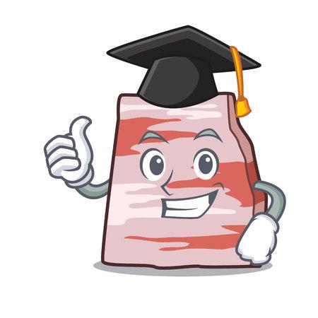 Graduation pork lard character cartoon