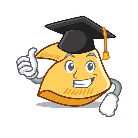 Fazit Glückskeks Charakter Cartoon Illustration Standard-Bild - 98406636