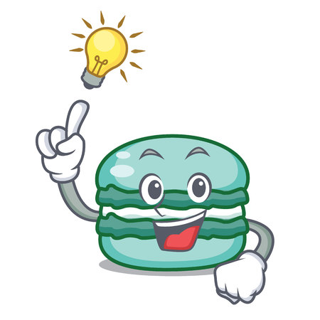 Have an idea macaron character cartoon style