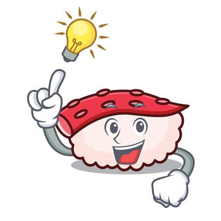 Idea tako sushi mascot cartoon.  イラスト・ベクター素材