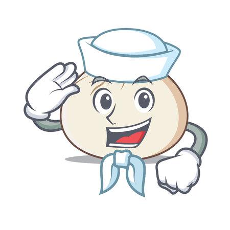 Sailor dimsum character cartoon style