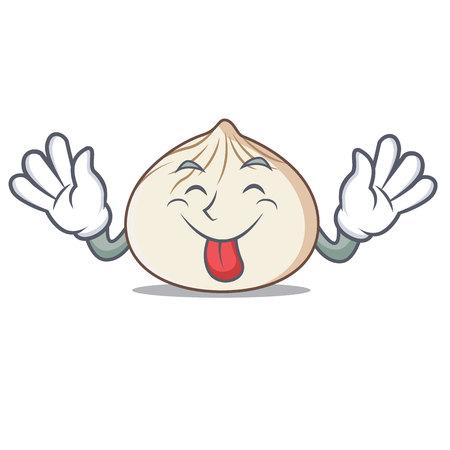Lengua de estilo de dibujos animados ilustración vectorial de estilo mascota Foto de archivo - 99118304