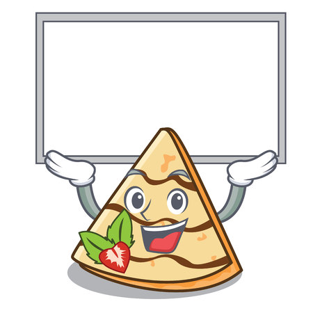 Up board crepe character cartoon style