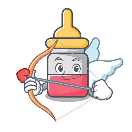 Cupid nasal drop character cartoon vector illustration