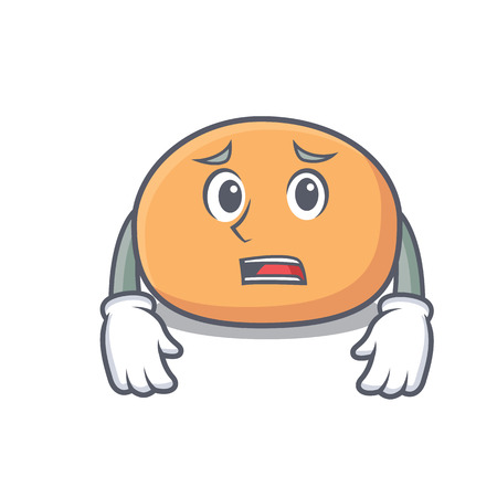 Afraid mochi mascot cartoon style Banco de Imagens - 101563295