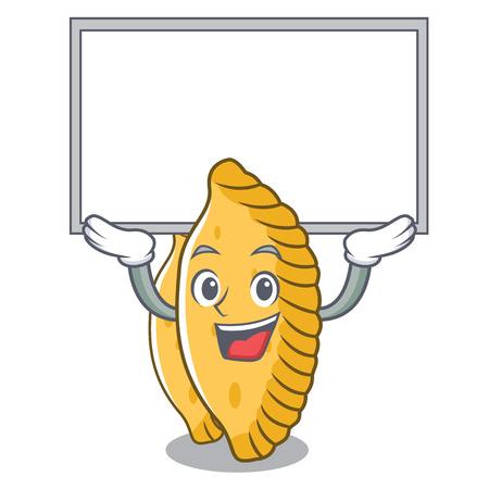 Up board pastel character cartoon style vector illustration Illustration