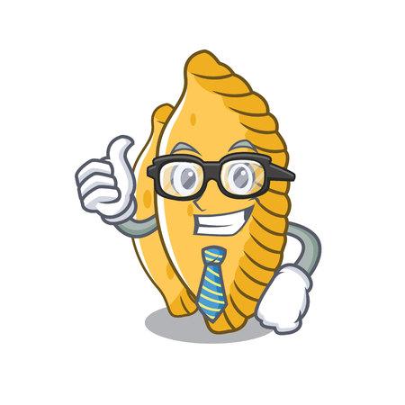 Businessman pastel character cartoon style vector illustration Illustration