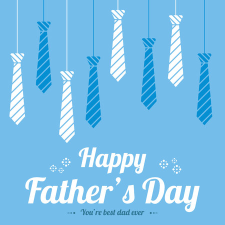 Father day design greeting card