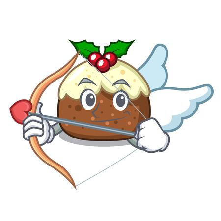 Cupid fruit cake character cartoon