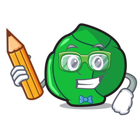 Student brussels character cartoon style