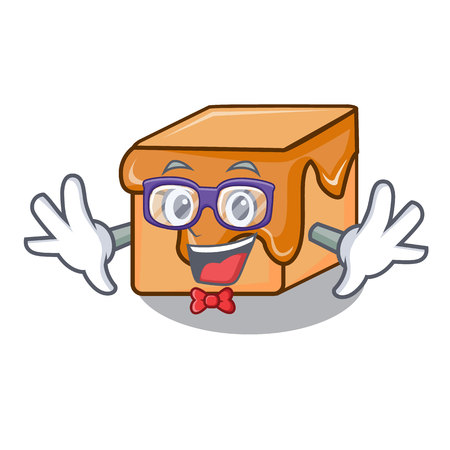Geek caramel candies character cartoon