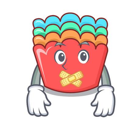 Silent baking molds mascot cartoon