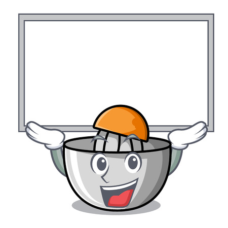 Up board juicer character cartoon style vector illustration Illustration