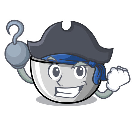 Pirate juicer character cartoon style