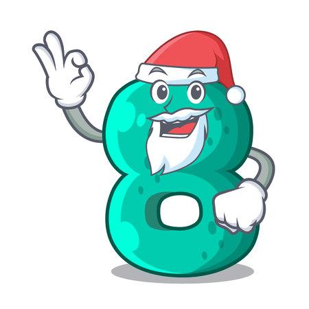 Santa number eight volume the mascot