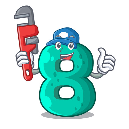 Plumber number eight volume the mascot