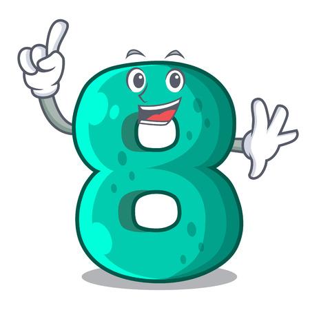 Finger number eight volume the mascot