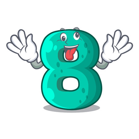 Crazy number eight volume the mascot Illustration