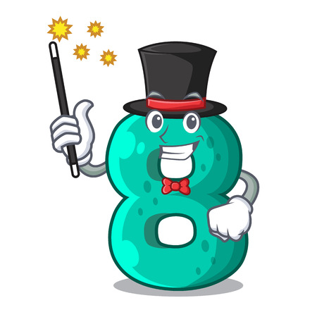 Magician number eight volume the mascot Illustration