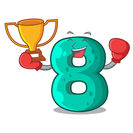 Boxing winner number eight volume the mascot
