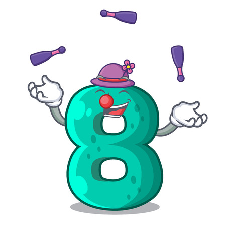 Juggling number eight volume the mascot