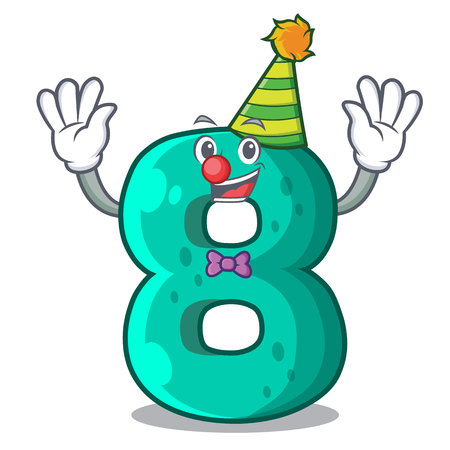 Clown number eight volume the mascot