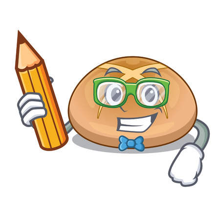 Student the hot cross buns character homemade